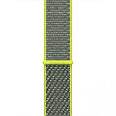 Акция на Ремешок Браслет Нейлоновый Sport Loop для Apple Watch 40mm Flash (Вспышка) от Allo UA