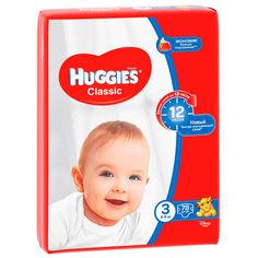 Акция на Подгузники Huggies Classic 3 (4-9 кг) Mega, 78 шт (5029053543116) от Allo UA