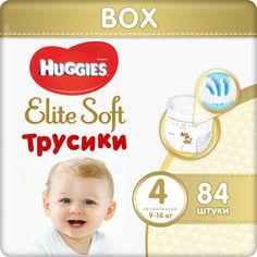 Акция на Подгузники Huggies Pants 4 Box Elite Soft 84 шт (5029053547107) от Allo UA