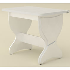 Акция на Обеденный стол Компанит КС 4 Нимфея альба (422) от Allo UA
