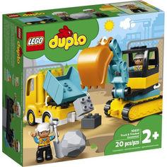 Акция на LEGO DUPLO Грузовик и гусеничный экскаватор (10931) от Allo UA