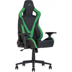 Акция на Кресло геймерское HEXTER PRO R4D TILT MB70 ECO/02 BLACK/GREEN от Allo UA