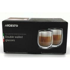 Акция на Набор чашек Ardesto 360 мл. 2 шт. (AR2636G) от Allo UA