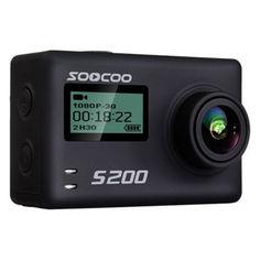 Акция на экстремальная SOOCOO S200 Black 4K 20 WiFi Угол 170 град microHDMI пульт управления от Allo UA