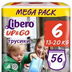 Акция на Подгузник детский Libero Up&Go 6 (56) (7322541090580) от Allo UA