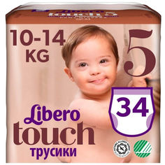 Подгузники - трусики детские Libero Touch Pants 5 (34) (7322541092003) от Allo UA