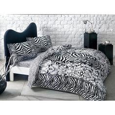 Акция на Комплект постельного белья Tac сатин Jovi V01 siyah евро черный (TAC60203319) от Allo UA