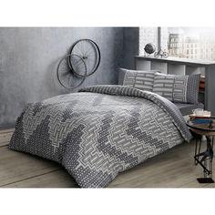Акция на Комплект постельного белья Tac ранфорс Lee V01 gri полуторный серый (TAC60203490) от Allo UA