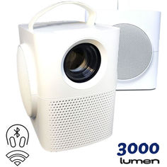 XPRO PANOPLUS NITRO 3000 люмен с WiFI подключением к телефону и функцией Bluetooth Surround колонки для офиса, домашнего кинотеатра и проведения презентаций от Allo UA