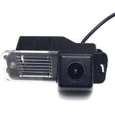 Штатная камера заднего вида Lesko для авто Volkswagen Magotan, Passat CC с разметочными линиями от Allo UA