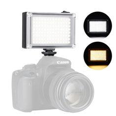 Акция на Накамерный свет Ulanzi 112LED для видеосъемки димируемая светодиодная панель 120° 5500К 2 матовых фильтра от Allo UA