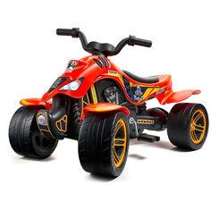 Акция на Детский квадроцикл Falk Quad Dakar Красный (606D) от Allo UA