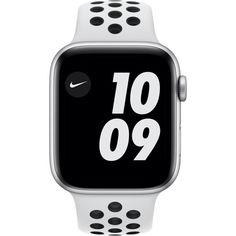 Apple Watch Nike Series 6 GPS, 44mm Silver Aluminium Case with Pure Platinum/Black Nike Sport Band (MG293) от Allo UA