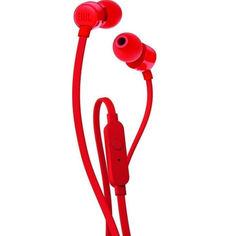 Акция на Наушники JBL T110 (JBLT110RED) Red от Allo UA