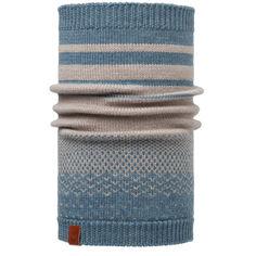 Акция на Бафф Buff Knitted Neckwarmer Mawi Stone Blue (2003.754.10) от Allo UA