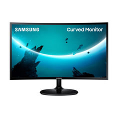 """Акция на Монитор 23.5"""" Samsung C24F390F (LC24F390FHIXCI) Black от Allo UA"""