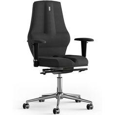 Акция на Кресло Kulik System NANO Black Ткань без подголовника без узора от Allo UA