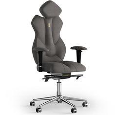 Акция на Кресло Kulik System ROYAL Ткань с подголовником без строчки от Allo UA