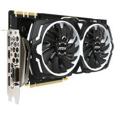 """MSI GeForce GTX 1080 ARMOR 8G OC """"Refurbished"""" от Allo UA"""