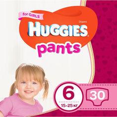 Подгузники-трусики Huggies Pant 6 (15-25 kg) Jumbo 30 Girl (5029053564296) от Allo UA