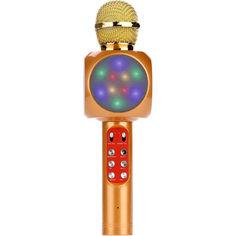 Акция на Беспроводной караоке микрофон Micgeek WS-1816 Gold от Allo UA