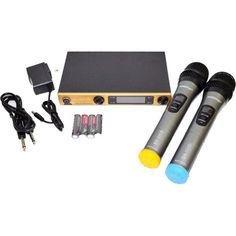 Акция на Беспроводная радиосистема на два микрофона Shure SM58 ii + чехол от Allo UA