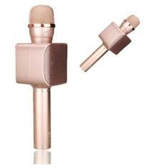 Акция на Беспроводной караоке микрофон Magic Karaoke YS-68 NEW Pink от Allo UA