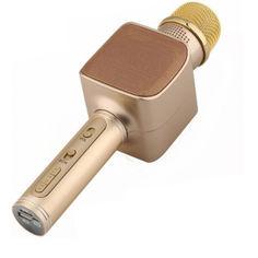 Акция на Беспроводной караоке микрофон Magic Karaoke YS-68 Gold от Allo UA