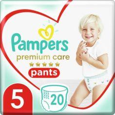 Подгузники - трусики Pampers Premium Care Pants размер 5 (Junior) 12-17 кг, 20 трусиков от Allo UA