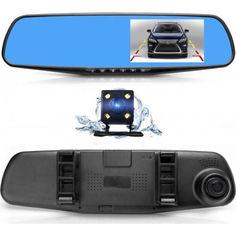 Акция на Зеркало регистратор с двумя камерами DVR 138W 4,0 (op651333077) от Allo UA