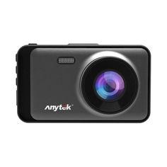 Акция на Видеорегистратор автомобильный Anytek X31 NEW регистратор 2 камеры Чёрный от Allo UA
