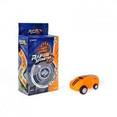 Акция на Машинка в шаре StreetGo Rapid Monster Blue оранжевая от Allo UA