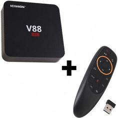 Акция на Ott SCISHION V88 Smart TV Box + пульт аэро-мышь G10 от Allo UA
