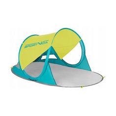 Палатка пляжная SportVida 190 x 120 см SV-WS0007 Yellow/Green от Allo UA