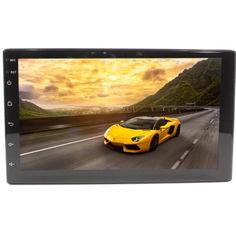 Акция на Магнитола 7'' Lesko 7003А память 1/16GB 2 Din bluetooth MP3 GPS навигатор WiFi Андроид 8.1 + Камера в подарок от Allo UA