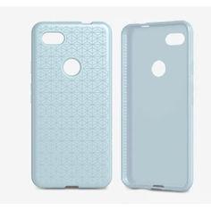 Акция на Чехол противоударный с антимикробным покрытием Tech21 Studio Design для Google Pixel 3a Shark Blue от Allo UA