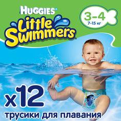 Подгузники для плавания Huggies Little Swimmers Naz 3-4 12 (36000183399) от Allo UA