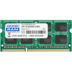 Акция на Оперативная память SO-DIMM 8Gb DDR3 1333 Goodram (GR1333S364L9/8G) от Allo UA