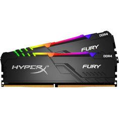 DDR4 2х16GB/3733 Kingston HyperX Fury RGB (HX437C19FB3AK2/32) от Allo UA