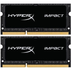 SO-DIMM 2x8GB/1600 DDR3 1,35V Kingston HyperX Impact (HX316LS9IBK2/16) от Allo UA