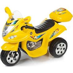 Акция на Детский электромотоцикл Babyhit Little Racer - Yellow (71627) от Allo UA