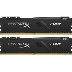 DDR4 2x16GB/3200 Kingston HyperX Fury Black (HX432C16FB3K2/32) от Allo UA