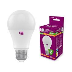 Акция на Лампа светодиодная ELM B60 PA-10 8W E27 3000K (18-0039) от Allo UA