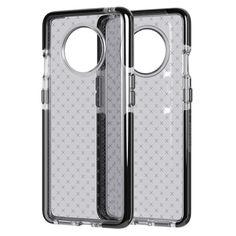 Акция на Чехол противоударный с антимикробным покрытием Tech21 Evo Check для OnePlus 7T Smoke Black от Allo UA