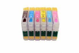 Акция на Перезаправляемые картриджи Epson RX620 с чипами от Lucky Print UA