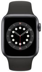 Акция на Смарт-часы Apple Watch Series 6 GPS 40mm Space Gray Aluminium Case with Black Sport Band Regular от MOYO