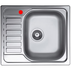 Акция на Кухонная мойка ELLECI Special 125 DX SATINATO от Allo UA