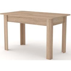 Акция на Обеденный стол Компанит КС 5 Дуб сонома (428) от Allo UA