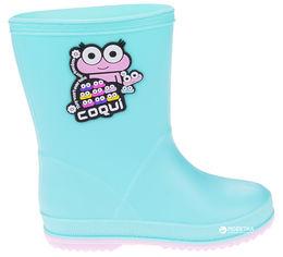 Резиновые сапоги Coqui 8505 24 15 см Mint/Candy pink (8595662625637) от Rozetka