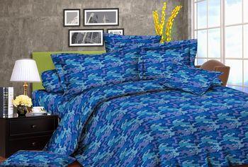 Акция на Двуспальное постельное белье Zastelli 1673-5с жатка (2500000972225) от Rozetka